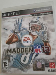 Game para PS3 - Madden NFL 13
