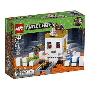 Lego Minecraft - A Arena da Caveira 21145