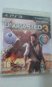 Game para PS3 - Uncharted 3 Drakes Deception
