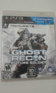 Game para PS3 - Tom Clancys Ghost Recon Future Soldier (compatível com Move)