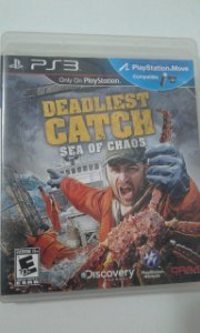Game para PS3 - Deadliest Catch (compatível com Move)
