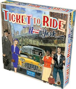 Jogo Ticket to Ride New York