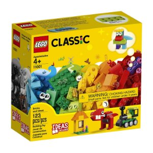 Lego Classic - Peças e Ideias 11001