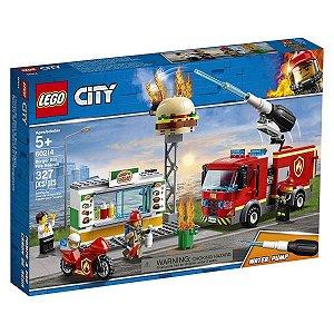 Lego City - Combate Ao Fogo No Bar De Hambúrgueres 60214