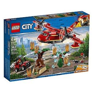 Lego City - Avião De Combate Ao Fogo 60217