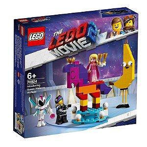 Lego Movie 2 - Apresentação Da Rainha Flaseria Fal'siani 70824