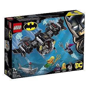 Lego O Batsubmarino De Batman E O Confronto Subaquátic 76116