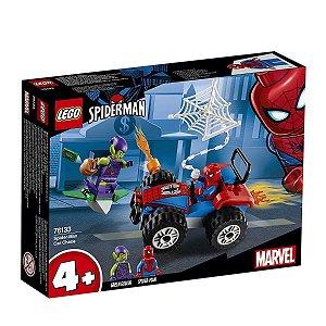 Lego Heroes - A Perseguição De Carro De Spider-man 76133