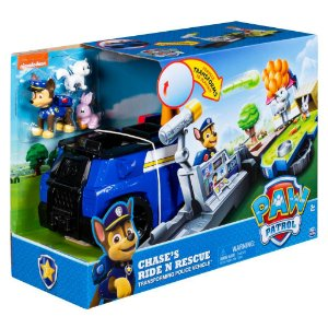 Patrulha Canina - Playset 2 em 1 Ride 'n' Rescue Chase