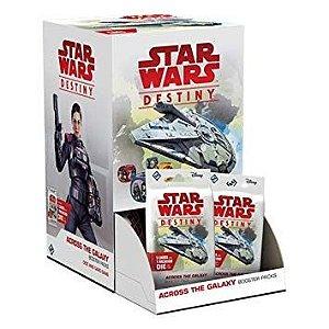 Jogo Star Wars Destiny Pacotes De Expansão Através Da Galáxia