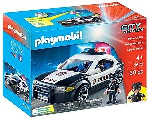 Playmobil 5673 - Carro De Policia