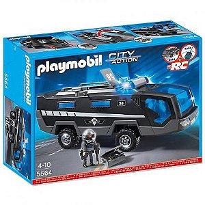 Playmobil 5564 - Comando De Unidade Tatica Da Policia