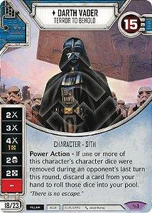 SW Destiny - Darth Vader Terror To Behold