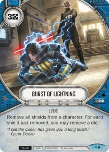 SW Destiny - Burst Of Lightning