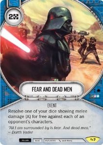 SW Destiny - Fear and Dead Men