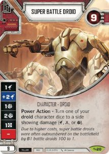 SW Destiny - Super Battle Droid
