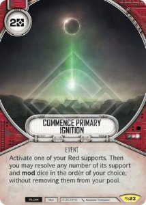 SW Destiny - Commence Primary Ignition