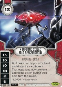 SW Destiny - Inferno Squad ID10 Seeker Droid
