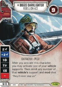 SW Destiny - Biggs Darklighter - Rebellion Ace