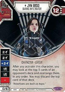 SW Destiny - Jyn Erso Daring Infiltrator