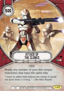 SW Destiny - Attack of The Clones