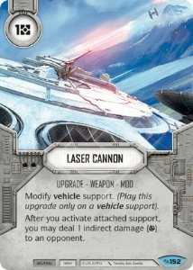SW Destiny - Laser Cannon