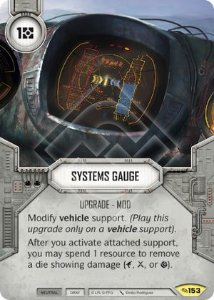 SW Destiny - Systems Gauge