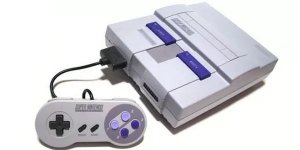 Console Super Nintendo Snes Completo + Jogo Brinde