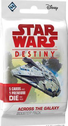 Star Wars Destiny Através Da Galáxia Booster
