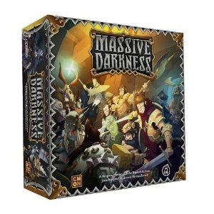 Jogo Massive Darkness - Galápagos Jogos