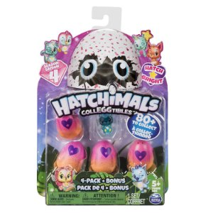 Hatchimals Colleggtibles Season 4 Blister Com 4 Ovos + Brinde