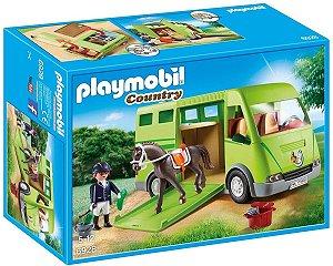 Playmobil 6928 - Caminhão Para Transporte De Cavalos