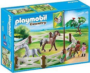 Playmobil 6931 - Cercado Com Cavalos
