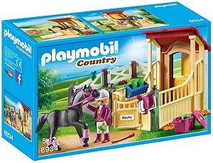 Playmobil 6934 - Cavalo Árabe Com Estábulos