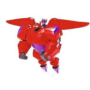 Big Hero 6 - Boneco Baymax Chama Voadora Com Hiro