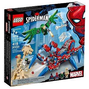 Lego Marvel - A Aranha Robô Do Homem-aranha 76114