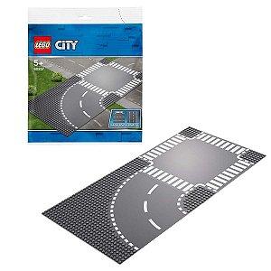 Lego City - Curva E Cruzamento 60237