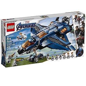 Lego Marvel - Quinjet Dos Vingadores 76126
