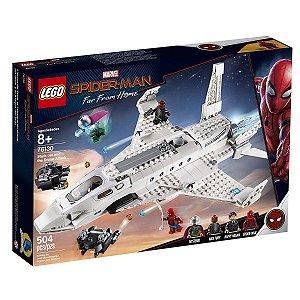 Lego Marvel - Jato Stark E Ataque De Drones 76130