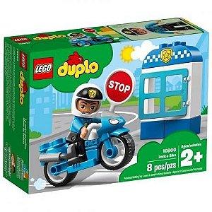 Lego Duplo - Bicicleta Da Polícia 10900