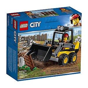 Lego City - Trator De Construção 60219