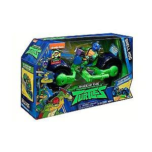 Tartarugas Ninja Boneco Com Veiculo Leonardo