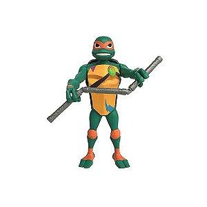 Tartarugas Ninja Bonecos Articulados 25cm Michelangelo