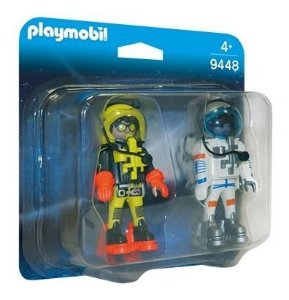 Playmobil 9448 Especial Com Blister Astronautas