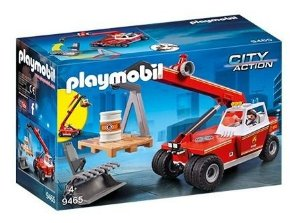 Playmobil 9465 - Guindaste Corpo De Bombeiros