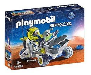 Playmobil 9491 - Triciclo Marciano E Explorador
