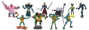 Tartarugas Ninja - Pack com 10 minifiguras
