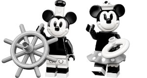 Lego Minifigures 71024 - Mickey Mouse e Minnie Vintage