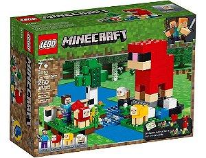 Lego Minecraft - A Fazenda Da Lã 21153