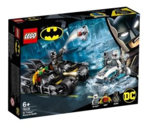 Lego Super Heroes Dc Combate De Bat-moto De Mr Freeze 76118